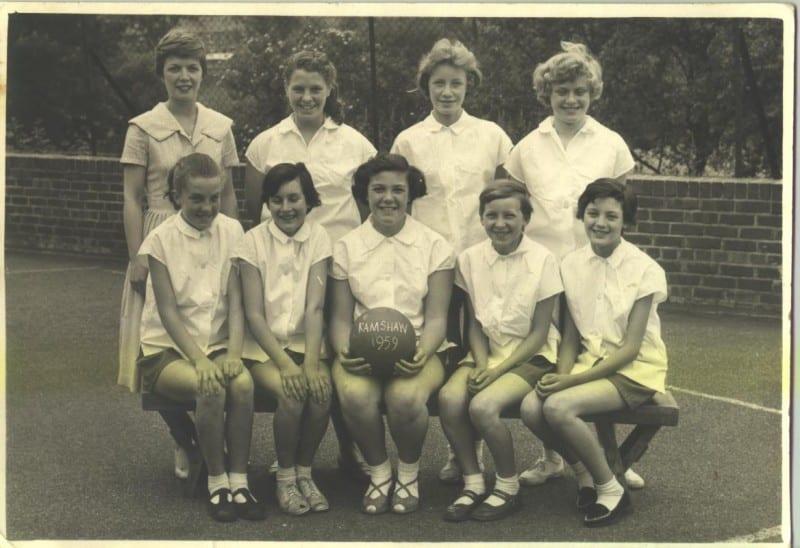 Netball Team 1959